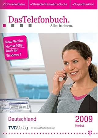 DasTelefonbuch Deutschland Herbst 2009