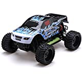 1/16 2.4 Ghz Exceed Rc Magnet Ep Electric Rtr Off Road Truck Fire Blue