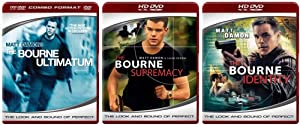 The Bourne Trilogy (The Bourne Identity / The Bourne Supremacy / The Bourne Ultimatum) [HD DVD]