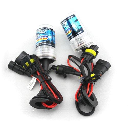 Car HID Xenon Single Beam Lights Bulbs Lamps H10 9005 10000K brilliant blue(12V,35W) - 1 Pair