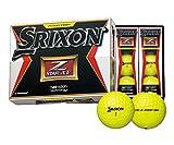DUNLOP(ダンロップ) SRIXON Z-STAR XV ゴルフボール 1ダース  プレミアムパッションイエロー