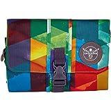Chiemsee Travel Washbag, Reise Kulturtasche mit Metallhaken zum Aufhängen und Aufrollfunktion, handlicher und praktischer Waschsalon mit den Maßen 15,5 x 15,5 cm, 5050012