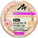 Manhattan CF 2in1 Powder & Make Up 79 1er Pack(1 x 11 grams)