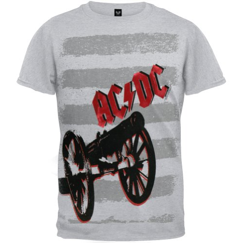 Ac/Dc - Cannons Youth T-Shirt - Youth 12 front-1066269