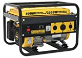 51vkuv2QZPL. SL160  Champion Power Equipment 46515 4,000 Watt 196cc 4 Stroke Gas Powered Portable Generator