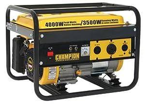 Champion Power Equipment 46515 4,000 Watt 196cc 4-Stroke Gas Powered Portable Generator (Discontinued by Manufacturer)