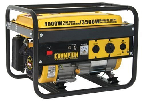 Champion Power Equipment 46515 4,000 Watt 196cc 4-Stroke Gas Powered Portable Generator Big SALE