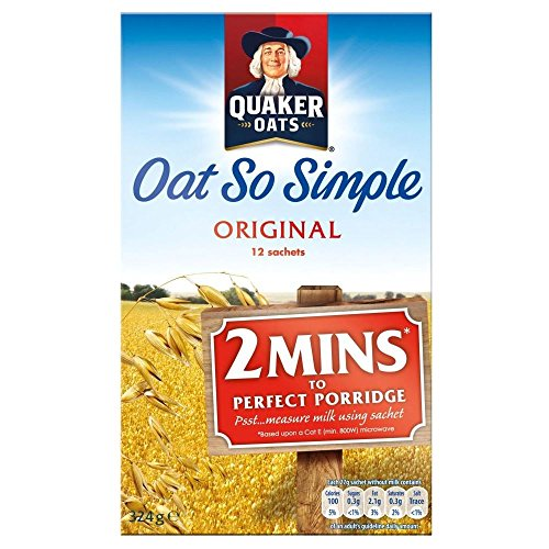 Quaker Oat So Simple Original (12 Per Pack - 324G)