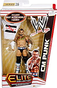 Amazon.com: WWE Collector Elite CM Punk Figure - Series 16: Toys
