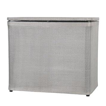 Basketweave Bench Clothes Bin. Bench Laundry Hamper Furniture Clothes Bathroom Storage