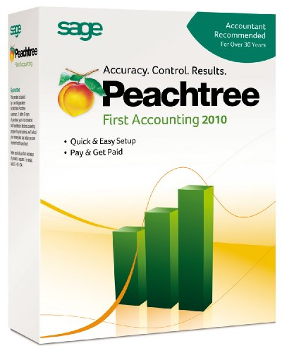Peachtree By Sage First Accounting 2010 [Old