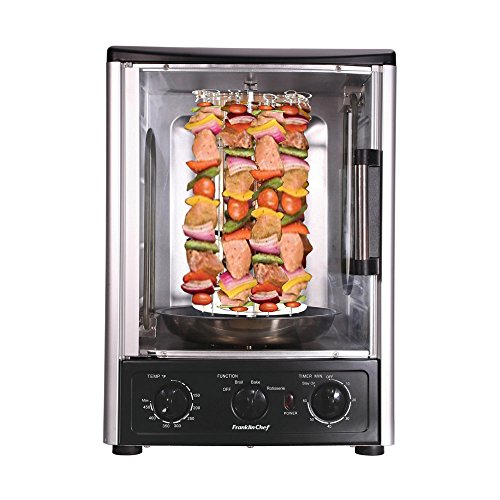 Multi-Function Vertical Countertop Rotisserie Oven with Bake, Roast ...