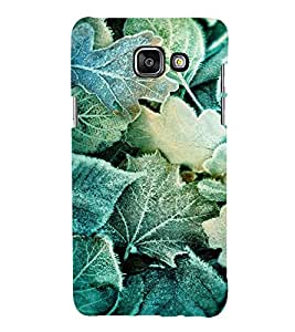 PRINTVISA Abstract Leaves pattern Case Cover for Samsung Galaxy A7 A710 (2016 Edition)