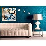 "Fizdi - 26Line107 - Handmade Painting ( 32"" X 32"" )"