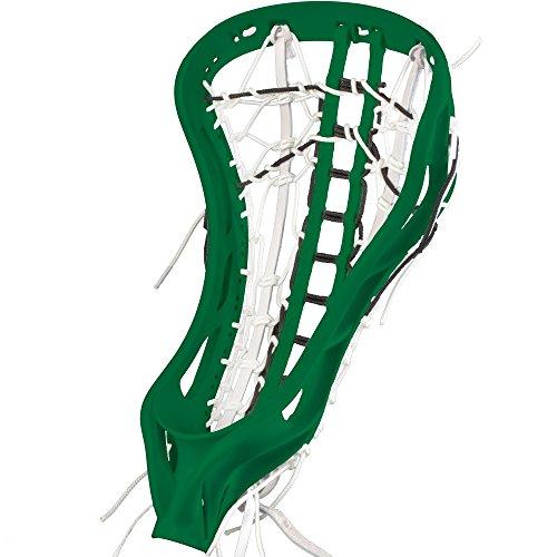 debeer-lacrosse-nv3-strung-head-gripper-with-s-pocket-forest-green