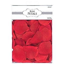Amscan Bold Rose Flower Petals, 2\