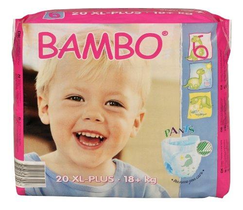 Abena Bambo Premium Training Pants, Size 6, Extra