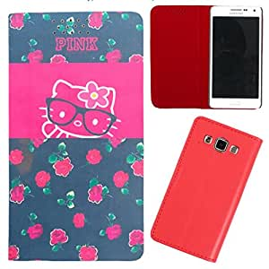 DooDa - For Micromax Yu Yuphoria PU Leather Designer Fashionable Fancy Flip Case Cover Pouch With Smooth Inner Velvet