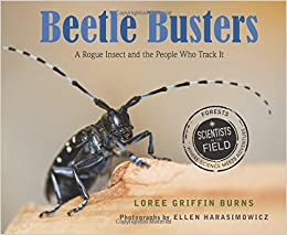 Beetle Busters by Loree Griffin Burns book cover