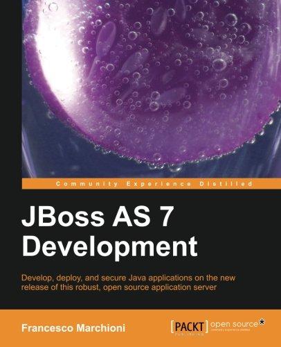 Developing Java Ee 6 Applications on Jboss As7