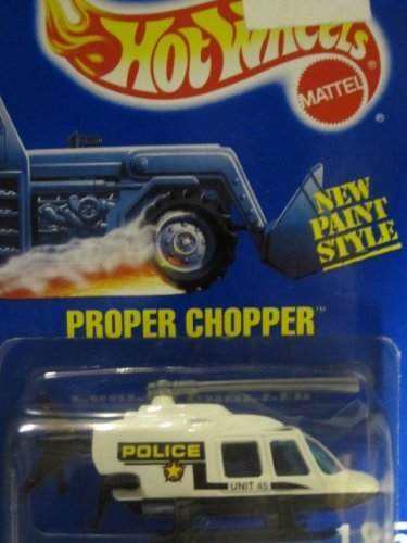 propper-chopper-police-car-1992-hot-wheels-185-black-white-on-solid-blue-card-by-hot-wheels