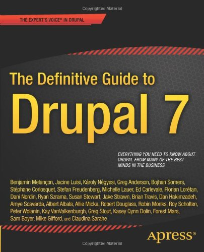 Image of The Definitive Guide to Drupal 7 (Definitive Guide Apress)
