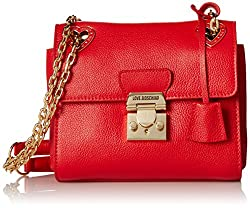 Love Moschino Mini Shoulder Bag with Gold-Tone Hardware