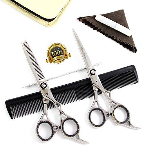 fresh-arrival-2-x-blue-avocado-scissors-hairdressing-scissors-professional-hair-cutting-thinning-sci