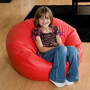 Comfort Research Classic Vinyl Bean Bag Chair from Comfort Research