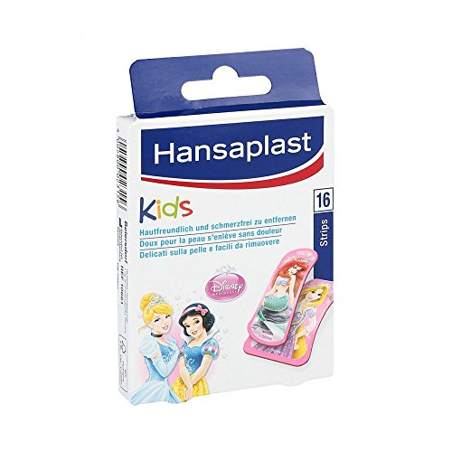 HANSAPLAST Junior Princess Strips 16 St Pflaster
