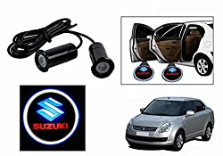 Speedwav LED Car Door Suzuki Ghost Shadow Light Set Of 2-Maruti Swift Dzire Old