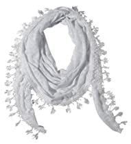 Three Cheers for Girls 73213 Bliss White Burnout Scarf