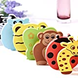 Baby-Proofing-Corner-Guards-30-Piece-Baby-Safety-Kit-Extra-Dense-Unique-Gift-Animal-Themed-Door-Stopper-and-Safety-Catches-Baby-Electrical-Covers-Safety-Protectors-Child-Proofing-Cabinet-and-Drawers