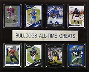 Buy NCAA Football Georgia Bulldogs All-Time Greats Plaque by C&I Collectables