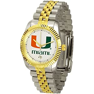 Miami Hurricanes NCAA Executive Mens Watch by SunTime