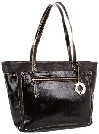Nine West If the Tote Fits Med Shopper Tote,Black/Black,One Size