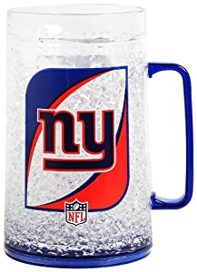 NFL New York Giants 36-Ounce Crystal Freezer Monster Mug by Duck House