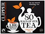 Clipper Fairtrade Everyday 80 Teabags...