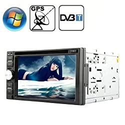 See Rungrace Universal 6.2 inch Windows CE 6.0 TFT Screen In-Dash Car DVD Player with Bluetooth / GPS / RDS / DVB-T Details