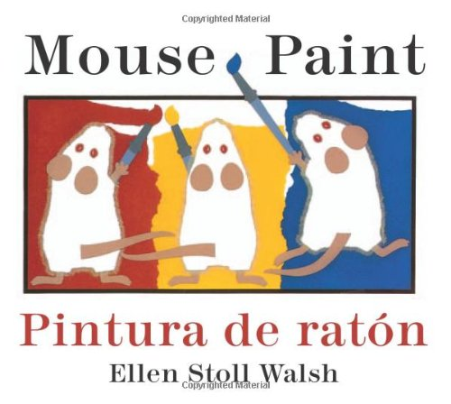 Mouse Paint/Pintura De Raton Bilingual Boardbook (Spanish And English Edition) front-455252