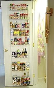 Amazon Com 24 Inch Wide Adjustable Door Rack Pantry
