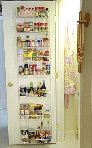 24 inch wide adjustable door rack pantry organizer spice