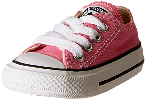 Converse Girls' Infant/Toddler Chuck Taylor All Star Ox - Pink - 8 Tod