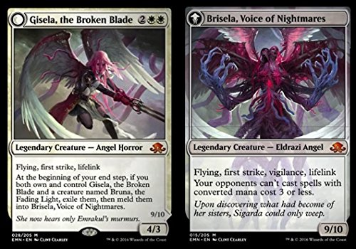 Magic: the Gathering - Gisela, the Broken Blade // Brisela, Voice of Nightmares (28/205) - Eldritch Moon