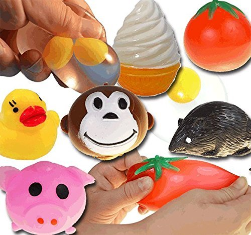 Cheapest Prices! Squishy Splat Ball Assortment Pack (1 Dozen Splat Balls)