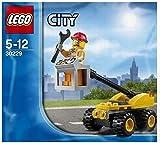 LEGO - City Réparation Ascenseur 30229 Jeu Spécial Exclusif Neuf 2014 (Poly Sac)