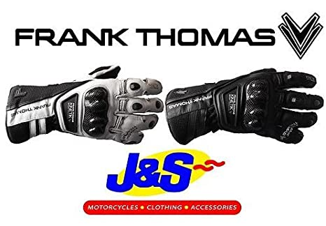 Frank Thomas seg213Kinetik Sport simple manchette Gants de moto moto J & S