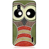 Head Case Designs Green Owl Patchwork Design Snap On Back Case Cover for LG Nexus 4 E960