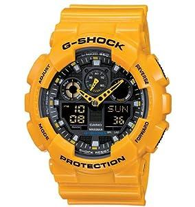 Casio Gents Watch G-Shock GA-100A-9AER