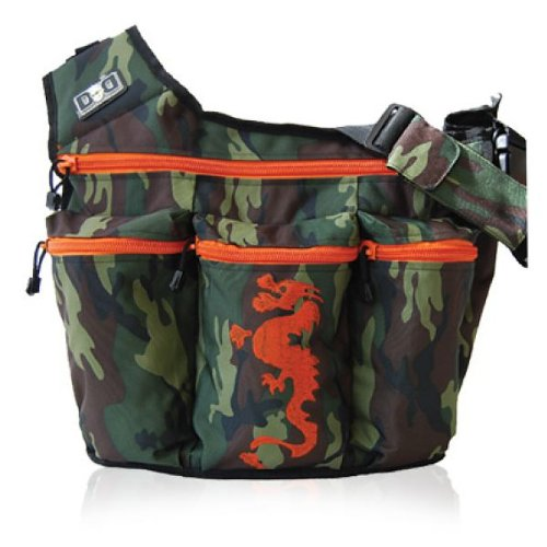 Diaper Dude Original Dragon Camo Diaper Bag